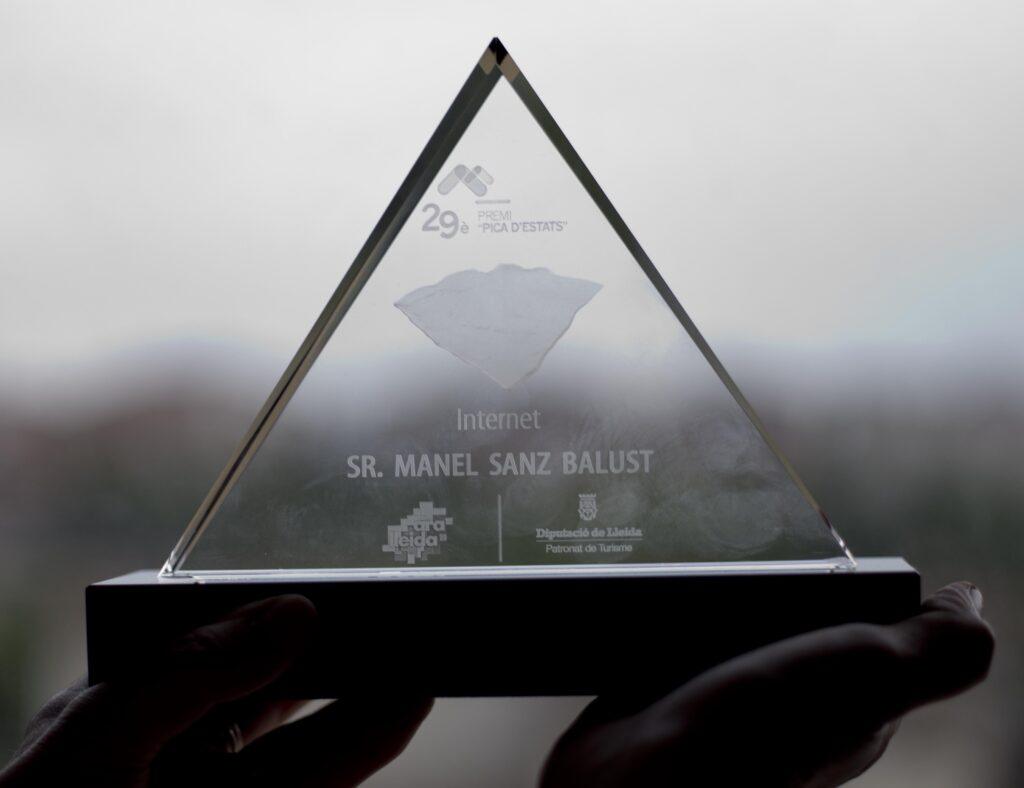 Premi 29è Pica d'estats personalitzat